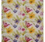 Szalvéta festett virágok