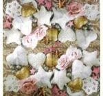 Szalvéta - rózsák, szívek, csillagok