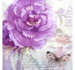 Szalvéta - Rózsa pillangós