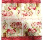 Szalvéta-Rózsacsokor