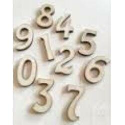Fa számok 3 cm