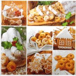 Szalvéta - Karácsonyi sütik