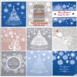 Szalvéta - Karácsonyi logók