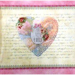 UTOLSÓ DARAB - vintage szív