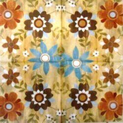 AKCIÓS - virág minta