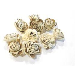 Mini Háncs Rózsa fehér-barna
