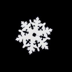 Polisztirol közepes hópihe 10*10 cm-es, 8 db-os - D