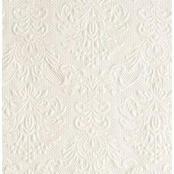 54f820eddb Ambiente esküvői szalvéta - gyöngyház fehér 40x40 cm - 15db - FEHÉR ...