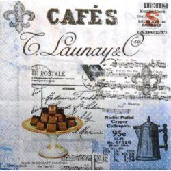 Szalvéta - Cafe kollázs