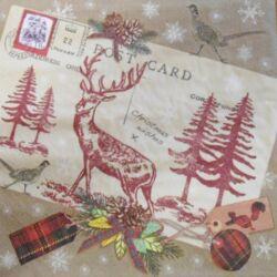 Szalvéta - Karácsonyi kívánságok