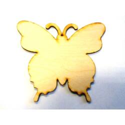 Pillangó fafigura 15cm