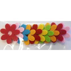 Tavaszi filc virág 1.
