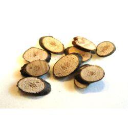 Nyírfa szeletkék ovális mini