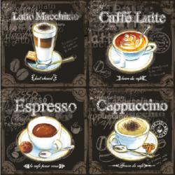 Szalvéta- kávé