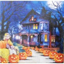 Szalvéta - Kastély, halloween