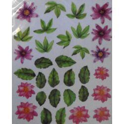 Fólia sablon - Virágfejek
