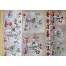 AKCIÓS - Decoupage papír 50x70cm