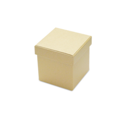 Kocka karton doboz, 9x9x9 cm