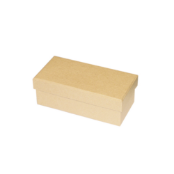 Papírmasédoboz doboz,  téglalap14x7x5 cm