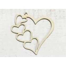 Natúr fa szív a szívben