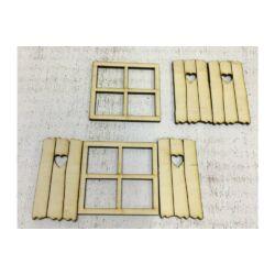 Tündérablak kocka, palettával 2szett/csomag