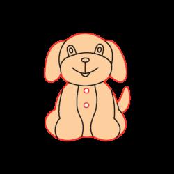 Mini Gomb Fafigura - Kutyus
