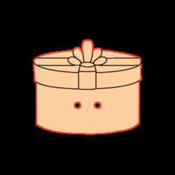 Mini Gomb Fafigura - Ajándékdoboz