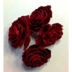 Tobozrózsa piros