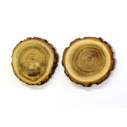 Fa szelet kerek 2db