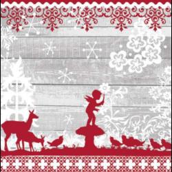 Szalvéta - Karácsony