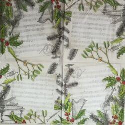 Koktél szalvéta - Karácsonyi dal