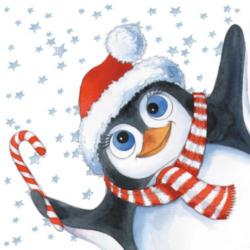 Szalvéta - Eddy, a pingvin