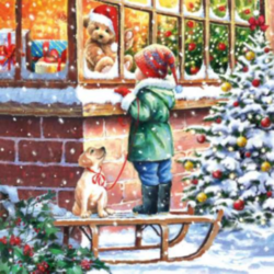 Szalvéta - Karácsonyi kívánság