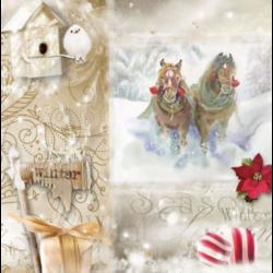 UTOLSÓ DARABOK - Karácsony, lovak