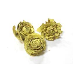Tobozrózsa sárgás