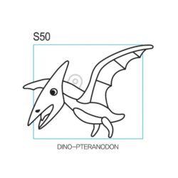 Kifesthető szárnyas dinó