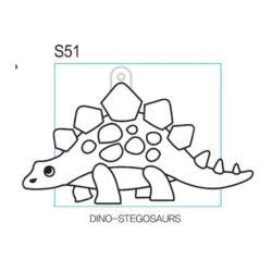 Kifesthető Stegoszaurusz