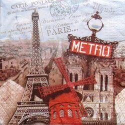 Szalvéta - Párizs