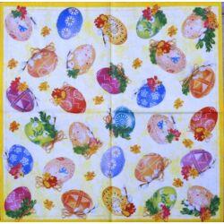 Szalvéta - Díszes tojások