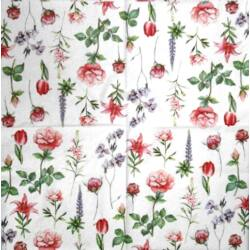Szalvéta - Mini virágszálak