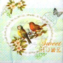 "Szalvéta - ""Sweet Home"" madaras"