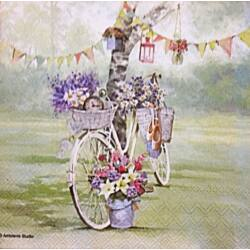 Szalvéta - Bicikli