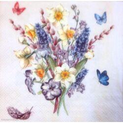 Szalvéta - Virág csokor