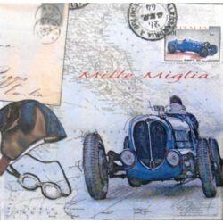 Szalvéta - Veterán autós