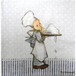 Szalvéta - Kis szakács