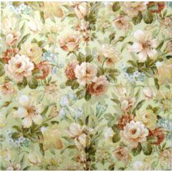 Szalvéta - Virág mintás