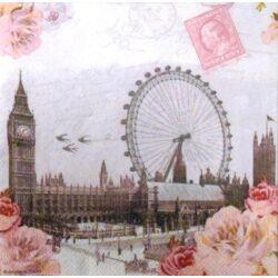 Szalvéta - London panoráma