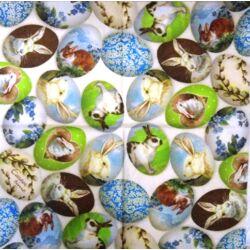 Szalvéta - Mintás tojások