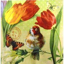 Szalvéta - Vintage tavasz