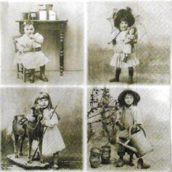 Szalvéta - Vintage képek